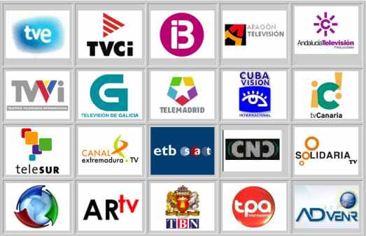channels from Hispasat and Astra Satellites